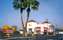 In-N-Out Burger - Tracy, CA, 575 Clover Road.