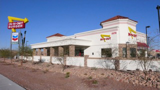 In-N-Out Burger - Tucson, AZ, 1979 E. Ajo Way.